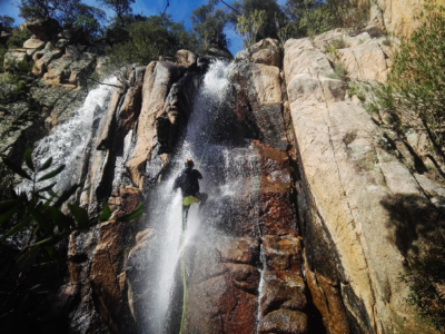 rio sa cresia, canyoning exploration,hidden waterfall, canyoning wild, jumping, canyoning tour