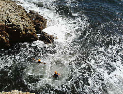 Coasteering: normal and common risks